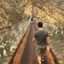 Los Cabos Canyon Bridge Crossing